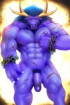 abs alistar anthro balls beard biceps big_muscles big_penis blue_hair bovine cattle chain erection facial_hair facial_piercing fantasy fur hair horn humanoid_penis iceman1984 league_of_legends looking_at_viewer male mammal minotaur muscles nipple_pinch nose_piercing nose_ring nude pec_grasp pecs penis piercing pose pubes purple_body red_eyes scar septum_piercing solo standing thick_penis uncut vein video_games   Rating: Explicit  Score: 32  User: mj  Date: December 09, 2012