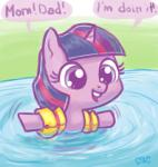2014 cub cute equine female feral friendship_is_magic hair horn mammal mcponyponypony my_little_pony smile solo swimming twilight_sparkle_(mlp) unicorn water young   Rating: Safe  Score: 14  User: lemongrab  Date: May 28, 2015