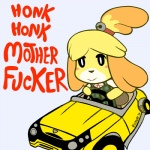 2014 animal_crossing anthro canine car dog english_text female isabelle_(animal_crossing) mammal mario_bros mario_kart nintendo rickz0r shih_tzu solo text video_games  Rating: Safe Score: 37 User: Juni221 Date: August 27, 2014
