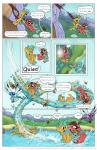 """arthropod comic dialogue digital_media_(artwork) donkey dragonfly equine falling fan_character female friendship_is_magic heads_and_tails horn hornet insect lake male mammal my_little_pony patreon smudge_proof snails_(mlp) snips_(mlp) unicorn wasp water  Rating: Safe Score: 2 User: Smudge_Proof Date: December 04, 2014"""""""