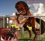 anthro anthro_on_feral bestiality big_breasts bound breasts bulge canine cervical_penetration cum cum_in_pussy cum_inflation cum_inside deep_penetration equine excessive_cum female feral fox half-closed_eyes horse inflation internal interspecies llmixll mammal penetration rope vaginal vaginal_penetration wet  Rating: Explicit Score: 26 User: BlazinSkrubs Date: August 31, 2015
