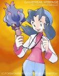 ambiguous_gender blue_eyes english_text female human ken_sugimori mammal marina misdreavus nintendo official_art pokémon red_eyes text video_games   Rating: Safe  Score: 0  User: Juni221  Date: April 21, 2014