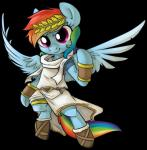 briskby costume equine female feral friendship_is_magic horse laurel_wreath mammal my_little_pony pegasus plain_background pony rainbow_dash_(mlp) solo wings   Rating: Safe  Score: 5  User: cowboy_brony  Date: May 04, 2015