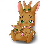 age_difference brown_fur cub fur gaku green_eyes happy_happy_clover incest kale kuridora lagomorph licking mammal penis precum rabbit tapering_penis tongue young   Rating: Explicit  Score: 3  User: Jontron  Date: April 08, 2014
