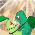 ambiguous/ambiguous ambiguous_gender blush breath bulbasaur chikorita duo feral leaf low_res nintendo open_mouth outside pokémon red_eyes reptile saliva saliva_string scalie sweat unknown_artist video_games vines waterfallRating: QuestionableScore: 2User: JasperinityDate: December 08, 2016
