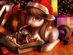 2015 box candy candy_cane chocolate christmas chryseum cutie_mark earth_pony equine female feral food friendship_is_magic gift hair hat hi_res holidays horse inside long_hair looking_at_viewer mammal my_little_pony octavia_(mlp) pony santa_hat solo  Rating: Safe Score: 20 User: lemongrab Date: December 22, 2015