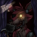 animatronic anthro blood canine eye_patch eyewear five_nights_at_freddy's fox foxy_(fnaf) glowing glowing_eyes hook machine male mammal mechanical robot solo soraawoolf video_games yellow_eyes   Rating: Questionable  Score: 5  User: Vallizo  Date: April 02, 2015