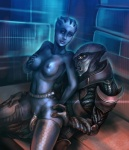 2_toes 3_fingers 4_eyes 5_fingers 5_toes alien angry armor asari belt blue_skin breast_grab breasts clothing duo female hexagon humanoid iyx javik legwear liara_t'soni male male/female mass_effect multiple_eyes not_furry penetration penis prothean pussy sex suit toes vaginal vaginal_penetration video_games  Rating: Explicit Score: 5 User: h4x0r Date: March 08, 2015