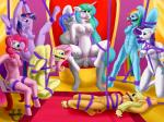 2015 anthro applejack_(mlp) bdsm blue_fur bondage bound breast_bondage breasts equine fan_character female fish fluttershy_(mlp) friendship_is_magic fur group inside male male/female mammal marine my_little_pony nipples nude penis pinkie_pie_(mlp) princess_celestia_(mlp) pussy quakehoof rainbow_dash_(mlp) rainbow_fur rarity_(mlp) rope sex shark suspension twilight_sparkle_(mlp)  Rating: Explicit Score: -8 User: Quakehoof Date: November 09, 2015