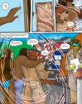 2010 abs anthro biceps canine clothing comic english_text father fur hair human male mammal markwulfgar muscular nipples parent pecs son text were werewolf  Rating: Safe Score: 13 User: MJ1988 Date: September 30, 2013