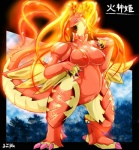 anus camel_toe digitigrade dragon_drive elemental female fire_elemental kashiniki nipples pussy solo wide_hips ymbk   Rating: Explicit  Score: 11  User: chdgs  Date: March 31, 2013