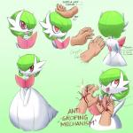 blood english_text female gardevoir human male mammal masterploxy mega_evolution mega_gardevoir nintendo pokémon red_eyes text video_games  Rating: Questionable Score: 5 User: Juni221 Date: July 23, 2015