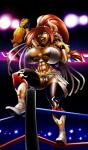 2015 abs animal_humanoid belt big_breasts bovine breasts camel_toe champion corruption_of_champions cow_humanoid excellia_(coc) female fighting_ring horn huge_breasts humanoid mammal master_oki_akai minotaur muscles muscular_female solo wrestler  Rating: Questionable Score: 6 User: Robinebra Date: March 18, 2015