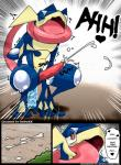 <3 anal anal_masturbation anal_penetration anthro balls bush colored comic cum cum_on_ground cum_while_penetrated cumshot dildo dildo_sitting duo edit ejaculation english_text erection forest fur greninja hands-free hi_res kivwolf looking_pleasured lucario male masturbation nintendo orgasm orgasm_face outside penetration penis pokémon red_eyes redoxx saliva sex_toy shocked solo teeth text tree video_gamesRating: ExplicitScore: 17User: ReDoXXDate: March 19, 2017