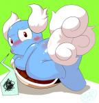 2012 ambiguous_gender blush claws embarrassed m@rt nintendo pokémon reptile scalie shell shell-less solo video_games wartortle   Rating: Questionable  Score: 1  User: SlayerBVC  Date: March 26, 2015