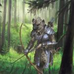 adventurer anthro archer armor arrow bow_(weapon) bracers brown_fur canine detailed_background dungeons_&_dragons edit female ferns forest fur gnoll grey_fur holding_object holding_weapon hyena longbow mammal melee_weapon mohawk monster nature pathfinder pine_tree quiver ranged_weapon ranger scabbard scale_mail scimitar solo spots spotted_fur spotted_hyena sword tree tribal tribe warrior weapon yellow_eyes zefy  Rating: Safe Score: 17 User: TheAlmightySear Date: February 22, 2016