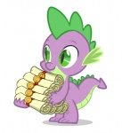 animated cute dragon friendship_is_magic male my_little_pony plain_background scalie scroll solo spike_(mlp) unknown_artist white_background   Rating: Safe  Score: 11  User: Ohnine  Date: June 26, 2011