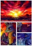 comic digital_media_(artwork) haychel leon lucario male nintendo pokémon pokémon_mystery_dungeon red_eyes scenery_porn slydragoon16 sun vagus video_games water   Rating: Safe  Score: 14  User: slyroon  Date: August 17, 2013
