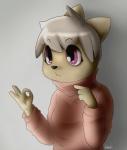 "bartucthebloody cat clothing feline female fur innuendo mammal purple_eyes solo sweater  Rating: Safe Score: 3 User: razplus Date: July 03, 2015"""