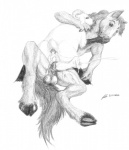 2012 anal anthro anthro_on_feral anus balls bestiality caprine cum cum_inside equine feral flair gay hooves horse interspecies male mammal pencil_art penis ram sex sheep soulgryph traditional_media   Rating: Explicit  Score: 9  User: soulgryph  Date: May 10, 2012