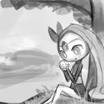 food legendary_pokémon lumineko meloetta muffin nintendo pokémon semi-anthro sketch video_games  Rating: Safe Score: 2 User: lumineko Date: February 15, 2016