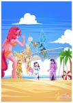2014 anthro anthrofied applejack_(mlp) beach bikini blue_feathers blue_fur breasts clothing cloud digital_media_(artwork) earth_pony equine feathers female fluttershy_(mlp) friendship_is_magic fur group hair horn horse mammal multicolored_hair my_little_pony mysticalpha outside pegasus pinkie_pie_(mlp) pony purple_fur purple_hair rainbow_dash_(mlp) rainbow_hair rarity_(mlp) seaside sky swimsuit twilight_sparkle_(mlp) two_tone_hair unicorn winged_unicorn wings  Rating: Safe Score: 21 User: Robinebra Date: August 23, 2014