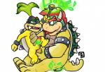 age_difference anal anal_penetration blush bowser bowserboy101 cuffs_(disambiguation) dildo duo green_hair hair iggy_koopa koopa koopalings leash magic magic_wand male male/male mario_bros nintendo penetration penis red_hair scalie sex_toy shell simple_background size_difference tongue vibrator video_games white_background young  Rating: Explicit Score: 6 User: Zest Date: January 30, 2016