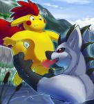 anselm ball_fondling balls big_balls canine dragon duo fellatio fondling hybrid male male/male mammal nintendo oral penis pikachu pokémon roy_arashi sex video_games wolf  Rating: Explicit Score: 15 User: slyroon Date: May 30, 2015""