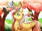 2016 angel_(mlp) avian bird cute equine female feral fluttershy_(mlp) friendship_is_magic inuhoshi-to-darkpen lagomorph male mammal my_little_pony pegasus rabbit wings  Rating: Safe Score: 12 User: Robinebra Date: April 28, 2016