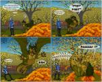 ! 2015 ajder angry autumn balls brown_eyes brown_scales claws clothed clothing comic dialogue draghi dragon green_scales happy humor jeans jonaleth multicolored_scales nude outside scales scalie screaming sharp_claws sheath smile toe_claws tongue tongue_out tree two_tone_scales western_dragon yelling  Rating: Questionable Score: 11 User: syrmat Date: October 31, 2015