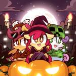 apple_bloom_(mlp) bell candle chubby clothing costume creeper cub cute cutie_mark_crusaders_(mlp) equine eyewear fangs female feral fire flames friendship_is_magic fur glasses glowing_eyes green_eyes group hair halloween hat holidays horn horse jack_o'_lantern lifeloser long_hair looking_at_viewer magic_user minecraft moon my_little_pony necktie night open_mouth orange_fur outside pegasus pony pumpkin purple_eyes purple_hair red_hair scootaloo_(mlp) shirt sky smile standing stars suit sunglasses sweetie_belle_(mlp) teeth tongue unicorn video_games wings witch witch_hat young   Rating: Safe  Score: 8  User: Deatron  Date: October 31, 2013