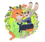 2016 anthro canine disney female fox judy_hopps lagomorph male mammal nick_wilde rabbit zootopia あつし  Rating: Safe Score: 0 User: Vallizo Date: May 06, 2016