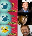2010 :3 beard chuck_norris comic dialogue duo english_text facial_hair feral fur grin hair happy hat human humor koffing lol_comments low_res male mammal nintendo open_mouth pikachu pokémon real rodent smile smoke speech_bubble teeth text unknown_artist video_games walker_texas_ranger who's_that_pokemon yellow_fur