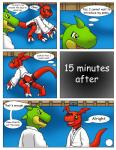 comic digimon dragon duo guilmon karate reptile scalie text  Rating: Safe Score: 0 User: hector21314 Date: April 21, 2015""