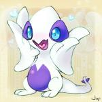 <3 abstract_background ambiguous_gender avian blue_eyes cub cute feral happy jiayi legendary_pokémon looking_at_viewer lugia nintendo open_mouth pokémon simple_background solo tongue video_games white_body young  Rating: Safe Score: 10 User: Freel Date: March 18, 2014