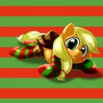 """2015 applejack_(mlp) behind-space clothing cute earth_pony equine female feral friendship_is_magic horse legwear mammal my_little_pony pony smile socks solo  Rating: Safe Score: 6 User: Robinebra Date: May 07, 2015"""""""