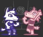 ambiguous_gender animal_crossing anthro canine duo female k.k._slider low_res mammal nintendo unknown_artist video_games whitney_(animal_crossing) wolf wolfgang   Rating: Safe  Score: 2  User: Untamed  Date: December 08, 2013