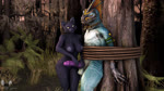 16:9 2020 3d_(artwork) 4_fingers 5_fingers animated anthro anthro_on_anthro balls bdsm black_body blue_body blue_scales bondage bound breasts capp_(petruz) connivingrat crossed_arms digital_media_(artwork) domestic_cat duo edging erection felid feline felis female fingers flaccid genitals grass group hi_res high_framerate huge_filesize long_playtime male male/female mammal nipples no_sound nude orgasm_denial outside penis restrained rope scales skink_(warhammer_fantasy) standing submissive submissive_male teeth throbbing tongue total_war:_warhammer tree vein veiny_penis warhammer_fantasy watermark webm widescreen yellow_eyes