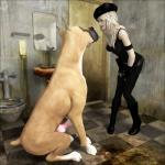3d animal_genitalia bestiality blonde_hair canine canine_penis clothed clothing dirty dog female feral fur great_dane hair human interspecies male mammal penis straight tan_fur vaesark   Rating: Explicit  Score: 6  User: lilicalover  Date: April 08, 2014