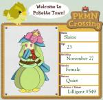 animal_crossing anthro avian beak bird clothing crossover duo english_text feathers female kurpo lilligant nintendo pokémon purple_eyes scarf shirt solo_focus text video_games wings   Rating: Safe  Score: 1  User: Deatron  Date: November 10, 2013