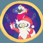alpacapala ambiguous_gender avian bag bird bow chain christmas delibird duo eyes_closed fangs gift hat holidays hoopa legendary_pokémon looking_at_viewer nintendo open_mouth pokémon santa_hat smile teeth video_games   Rating: Safe  Score: 1  User: DeltaFlame  Date: April 25, 2015