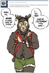 anthro antlers artdecade bear blush bulge buttplug buttplug_tail christmas clothing comic dialogue english_text harness holidays horn looking_at_viewer male mammal sex_toy sleigh_bells sloth_bear solo suggestive text tumblr underwear willy_(artdecade)   Rating: Questionable  Score: 4  User: thenewthing  Date: January 01, 2014