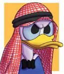 anthro clothing disney donald_duck glomiagui shemagh solo  Rating: Safe Score: 3 User: glomiagui Date: February 07, 2016