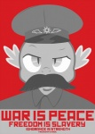 1984_(novel) big_brother crossover cult_of_personality dragon election equestria-election facial_hair friendship_is_magic hat male mustache my_little_pony parody poster propaganda scalie solo soviet spike_(mlp)   Rating: Safe  Score: 6  User: Anomynous  Date: June 19, 2011