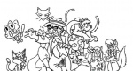 animaniacs anthro callie_briggs cat cats_don't_dance crazy_cat_lady feline female group gumball_watterson human katia_managan katz khajiit kitty_katswell mammal mirage plain_background prequel rita sawyer sketch swat_kats t.u.f.f._puppy the_amazing_world_of_gumball the_elder_scrolls tom unknown_artist video_games white_background  Rating: Safe Score: 1 User: pingpong101 Date: July 09, 2012""