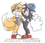 anthro balls black_fur black_nose blush butt duo english_text eyewear fangs frottage fur goggles hat klonoa klonoa_(series) male male/male miles_prower orangebox penis sex smile sonic_(series) tape text white_fur yellow_fur   Rating: Explicit  Score: 15  User: Nipsy  Date: July 29, 2014