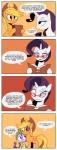 2012 bandage black_eye blonde_hair book cowboy_hat dialogue dragon english_text equine eyeshadow eyewear female feral freckles friendship_is_magic glasses hair hat horn karzahnii makeup mammal my_little_pony purple_hair rarity_(mlp) scalie spike_(mlp) text unicorn  Rating: Safe Score: 7 User: 2DUK Date: December 29, 2012