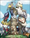 avian beak bird breath_of_the_wild clothing feathers incredibleediblecalico looking_down macro male nintendo revali rito teba_(zelda) the_legend_of_zelda video_games wingsRating: SafeScore: 1User: togepi1125Date: April 29, 2017