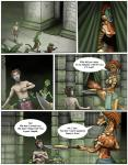 2011 anthro breasts clothed clothing comic dialogue dinosaur english_text female group hair horn human lizard male mammal markie naga reptile scalie size_difference snake speech_bubble text   Rating: Safe  Score: -1  User: GameManiac  Date: April 23, 2015