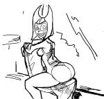 big_butt breasts butt butt_witch chair clothing female humanoid looking_at_viewer monochrome not_furry smile solo soul_devouring_eyes swimsuit terrible_the_drawfag twelve_forever   Rating: Questionable  Score: 0  User: ROTHY  Date: May 20, 2015